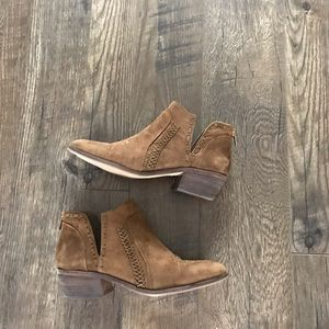 Vince Camuto leather ankle booties